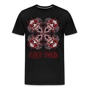 KidCrusher - Distorted Dimension - Men's Premium T-Shirt