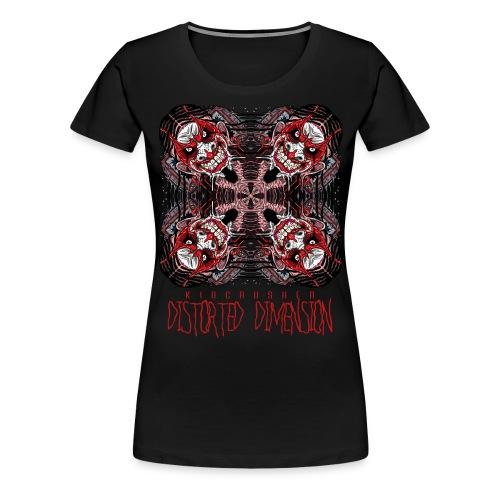 KidCrusher - Distorted Dimension - Women's Premium T-Shirt