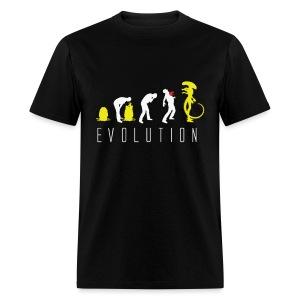 Alien  Evolution - Men's T-Shirt