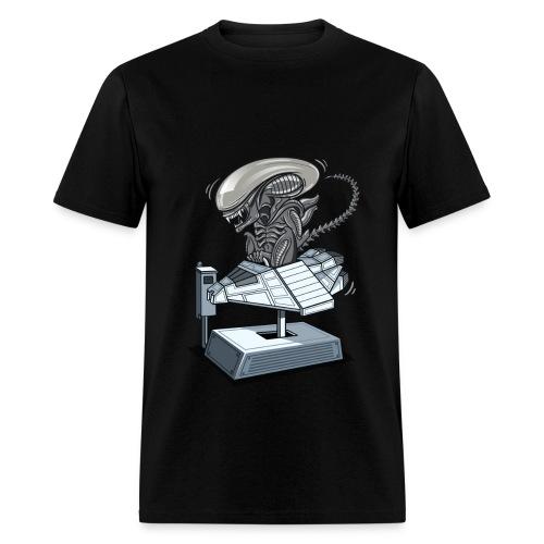 Xenomorph Rides - Men's T-Shirt