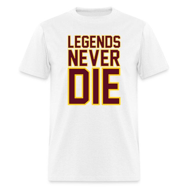 """Legends Never Die"" Tee - White"