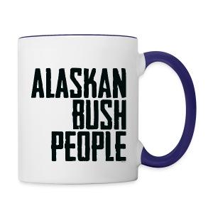Alaskan Bush people logo - Contrast Coffee Mug