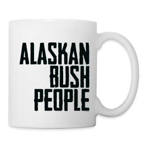 Alaskan Bush people logo - Coffee/Tea Mug