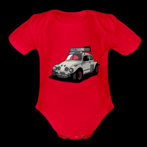 Baja Bug - Organic Short Sleeve Baby Bodysuit