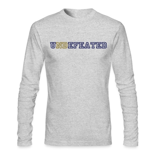 Men's undefeated long sleeved Tee - Men's Long Sleeve T-Shirt by Next Level