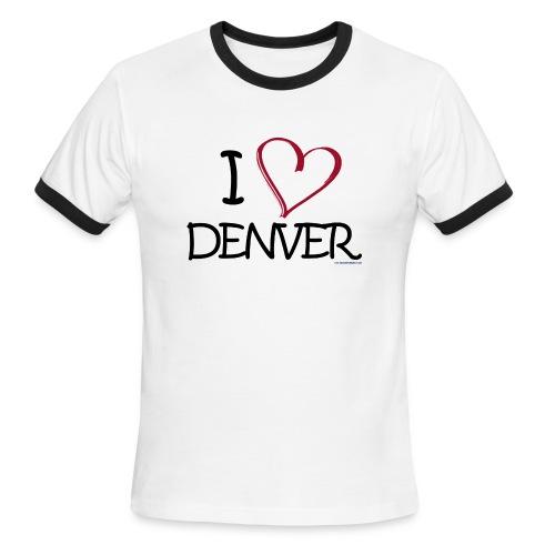Love Denver - Men's Ringer T-Shirt