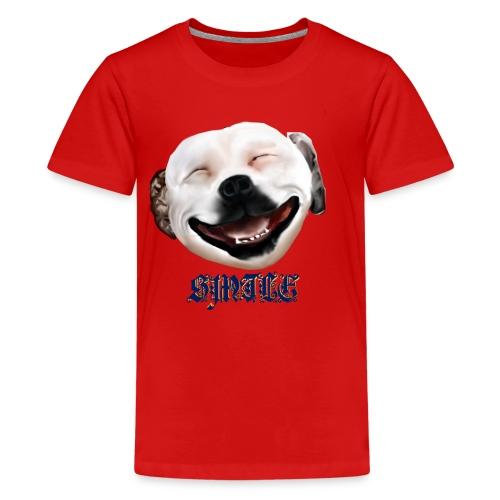Pit Bull Smile-Brightest - Kids' Premium T-Shirt