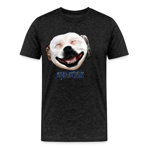 Pit Bull Smile-Brightest - Men's Premium T-Shirt