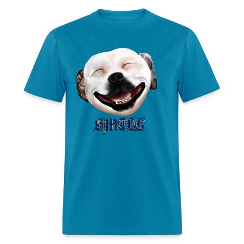 Pit Bull Smile-Brightest - Men's T-Shirt
