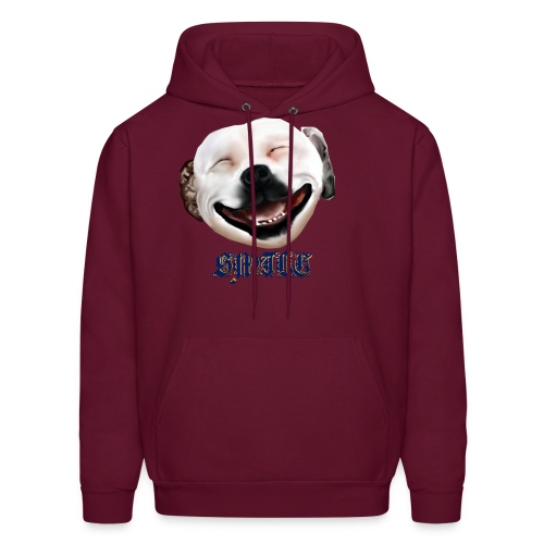 Pit Bull Smile-Brightest - Men's Hoodie