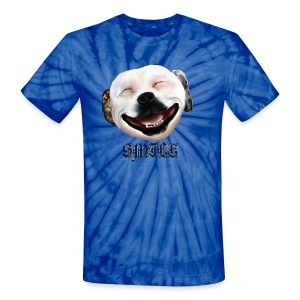Pit Bull Smile-Brightest - Unisex Tie Dye T-Shirt