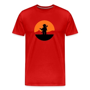 Red Dead Re-brick-tion - Men's Premium T-Shirt