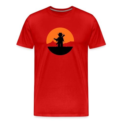 Red Dead Re-brick-tion - Men's Premium T-Shirt
