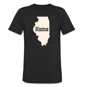 Illinois Home - Unisex Tri-Blend T-Shirt