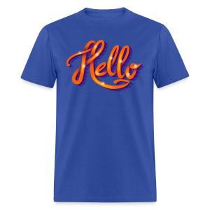 Hello - Men's T-Shirt