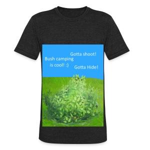 Bush campers - Unisex Tri-Blend T-Shirt