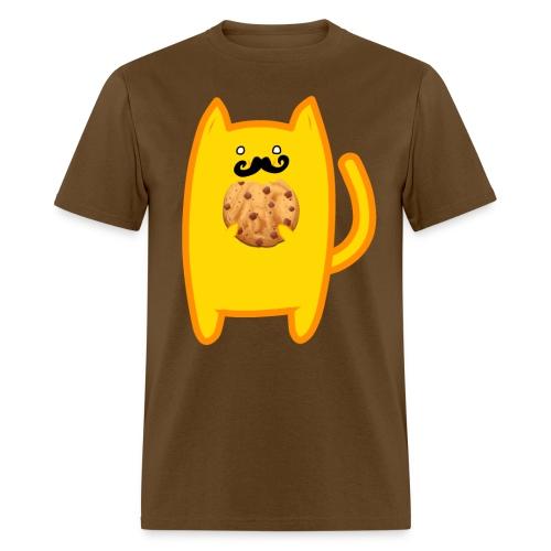 Cookie Stache - Men's T-Shirt