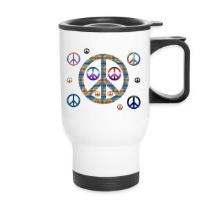 Peaces Travel Mug - Travel Mug