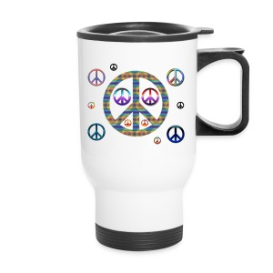 Peaces Travel Mug - Travel Mug
