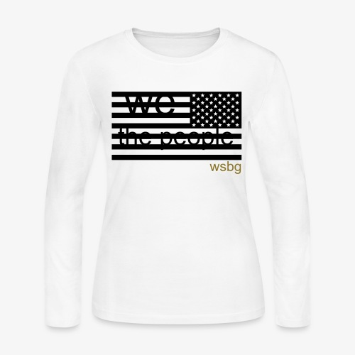 'we the people' - Women's Long Sleeve Jersey T-Shirt