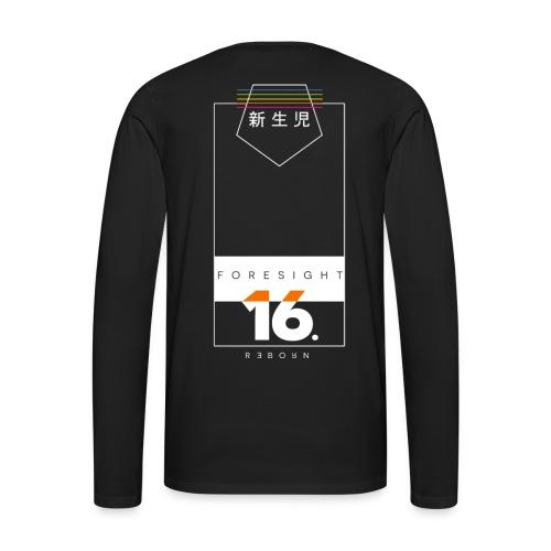 Reborn Long Sleeve Tee (新生児) - Men's Premium Long Sleeve T-Shirt