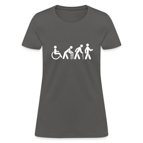 Women's Tshirt - White Silhouette - Women's T-Shirt