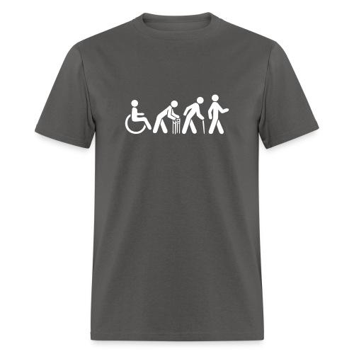 Men's Tshirt - White Silhouette - Men's T-Shirt