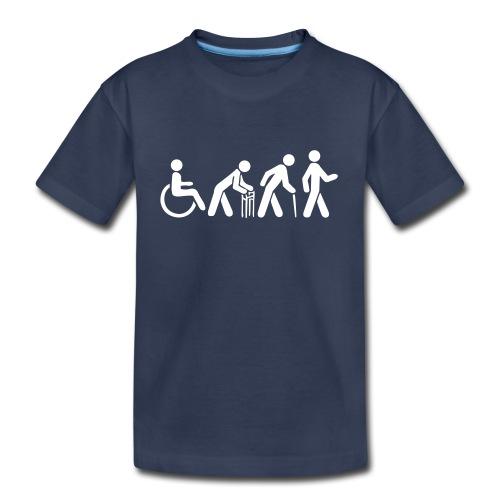 Premium Kid's Tshirt - White Silhouette - Kids' Premium T-Shirt