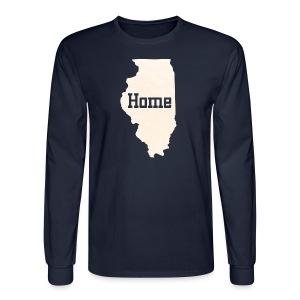 Illinois Home - Men's Long Sleeve T-Shirt