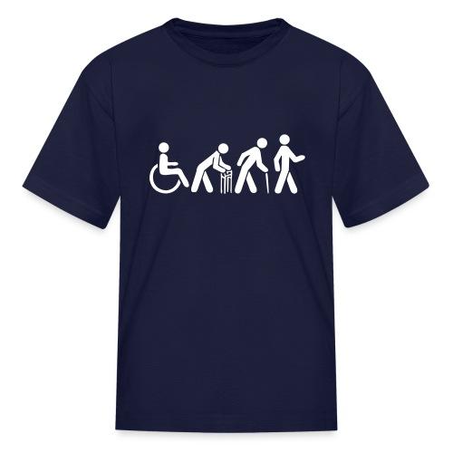 Kid's Tshirt - White Silhouette - Kids' T-Shirt