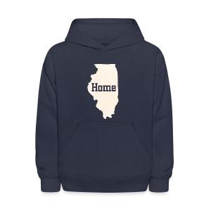 Illinois Home - Kids' Hoodie