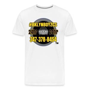 #BKLYNBOYZCS - Men's Premium T-Shirt