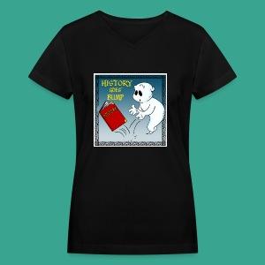 HGB Logo Women's V-neck - Women's V-Neck T-Shirt