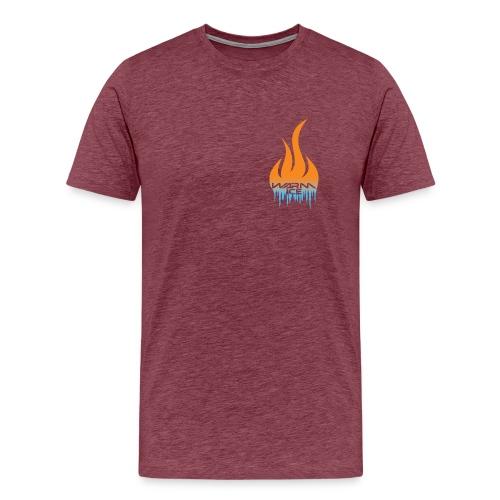 Warm ice front logo - Men's Premium T-Shirt