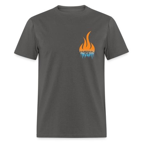 Warm ice front logo standard t-shirt - Men's T-Shirt