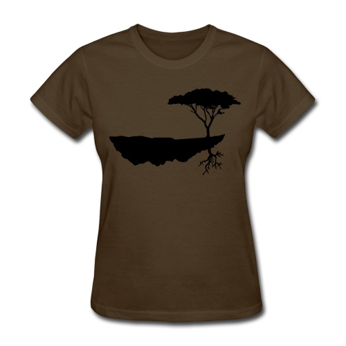 Island in the sky - Women's T-Shirt