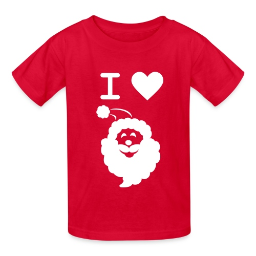 I LOVE SANTA CLAUS - Kid's T-Shirt - Kids' T-Shirt