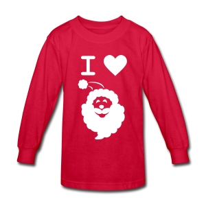 I LOVE SANTA CLAUS - Kid's Long-Sleeve - Kids' Long Sleeve T-Shirt