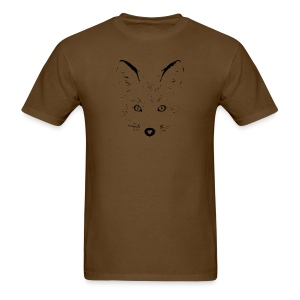 animal t-shirt fox jackal coyote wolf eyes shape - Men's T-Shirt