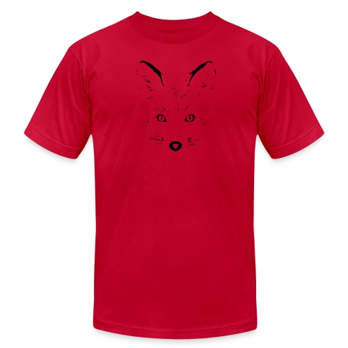 animal t-shirt fox jackal coyote wolf eyes shape - Men's  Jersey T-Shirt