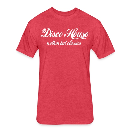 Disco House Classics Tee - Fitted Cotton/Poly T-Shirt by Next Level