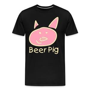 Beer Pig  - Men's Premium T-Shirt