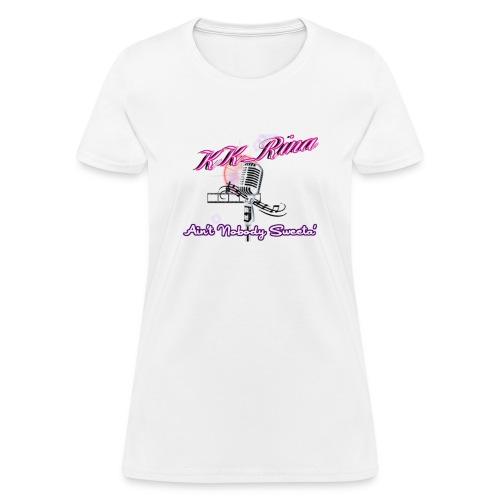 KK_R!na Throwback Channel Logo - Women's T-Shirt