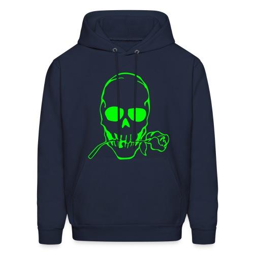 skull hood sweatshirt - Men's Hoodie