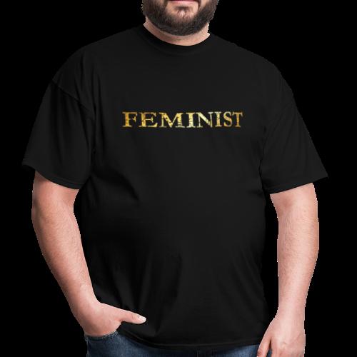 Feminist T-Shirt for Feminists (Ancient Gold) - Men's T-Shirt