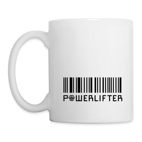 Powerlifter Bar-code - Coffee/Tea Mug