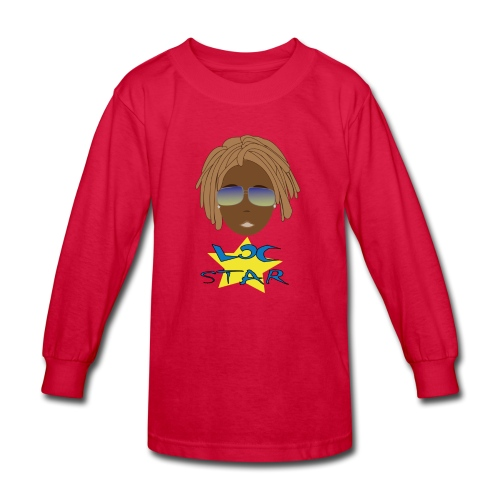 Loc Star - Kids' Long Sleeve T-Shirt