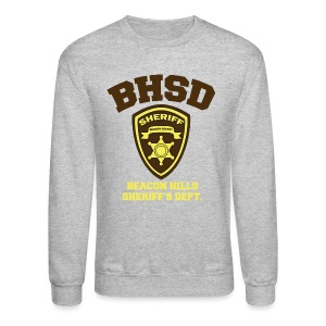 Beacon Hills Sheriff's Department (Large Logo) - Crew-neck - Crewneck Sweatshirt
