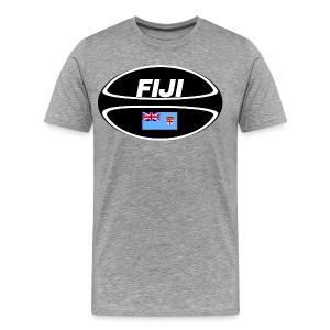 Fiji Rugby Ball T-Shirt - Men's Premium T-Shirt