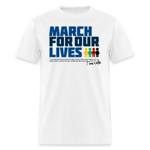 NAOMI WADLER- MARCH FOR OUR LIVES - Men's T-Shirt